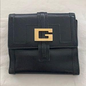 Authentic Vintage Ladies Black Gucci Wallet